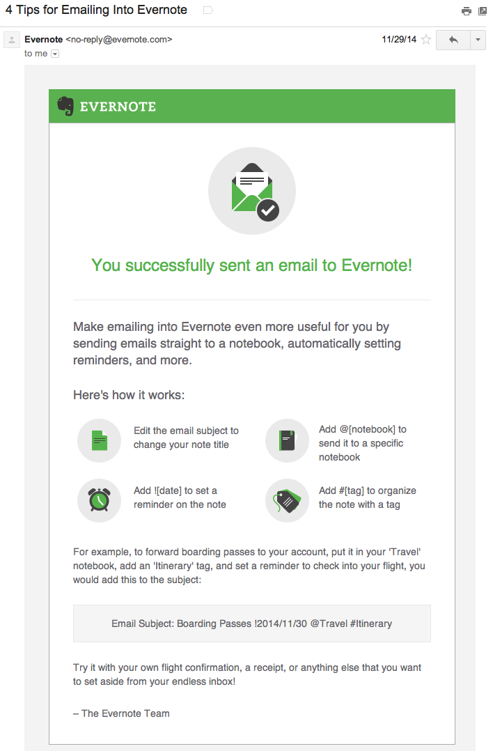 evernote onboarding