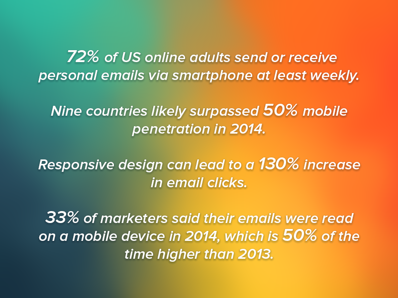 Mobile factor in email marketing 2015