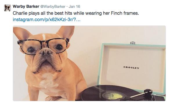 Warby Parker Barker