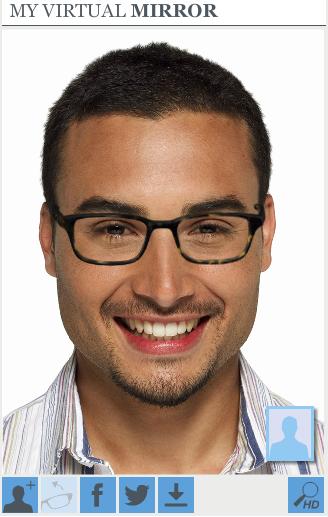 Warby Parker Virtual Mirror