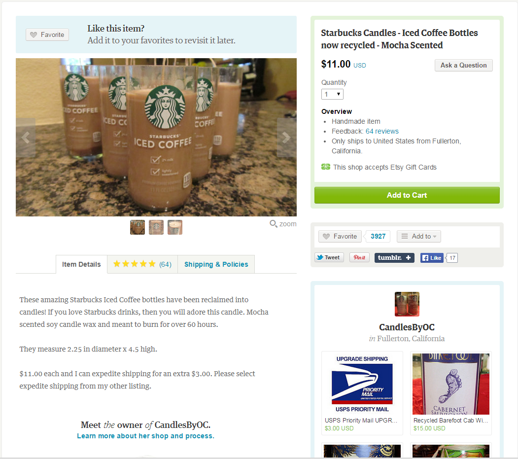 E-commerce for landing pages recommendations