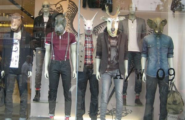 PPC ad headlines creepy store window mannequins