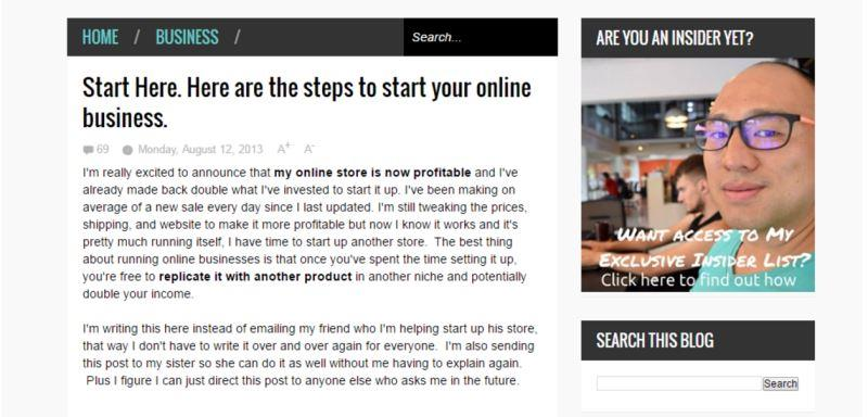 Johnny FD makes over $  18k per month! - How to Start a Blog That Makes $124,407 [Infographic]