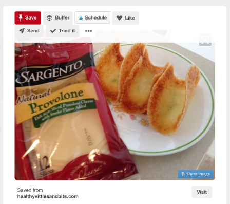 Pinterest rewards content creators with follow buttons and visit buttons even in other pinners