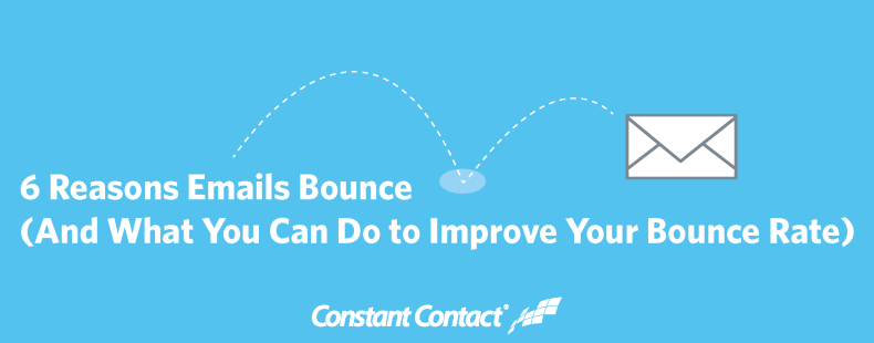 6 Reasons Emails Bounce (And What You Can Do to Improve Your Bounce Rate) - Why emails bounce ft image