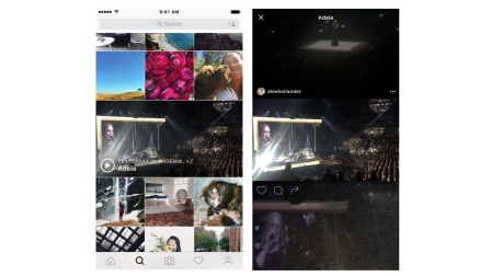 Instagram's personalized event channels will appear in the Explore tab and curate videos people post from live events.