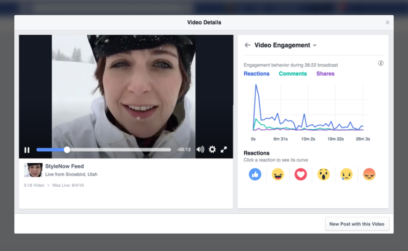 Facebook video metrics get granular with demographic, share & live engagement data