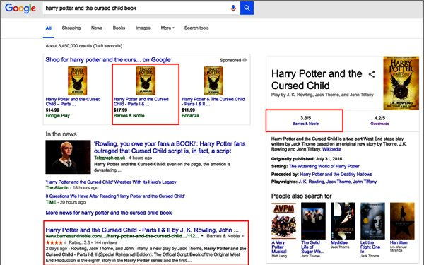 Harry Potter Magically Drives Search Traffic