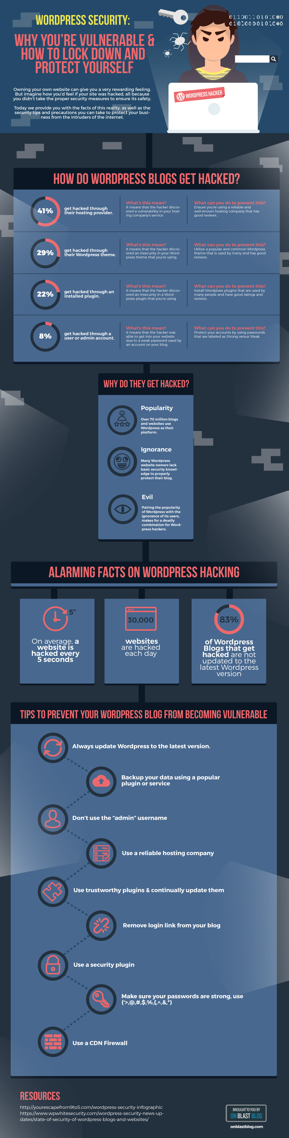 WordPress Security — The Beginner's Guide [Infographic]