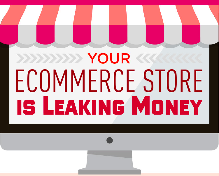 Your Online Shop Leaking Money? Here's How to Waterproof It. [Infographic] online shop leaking money