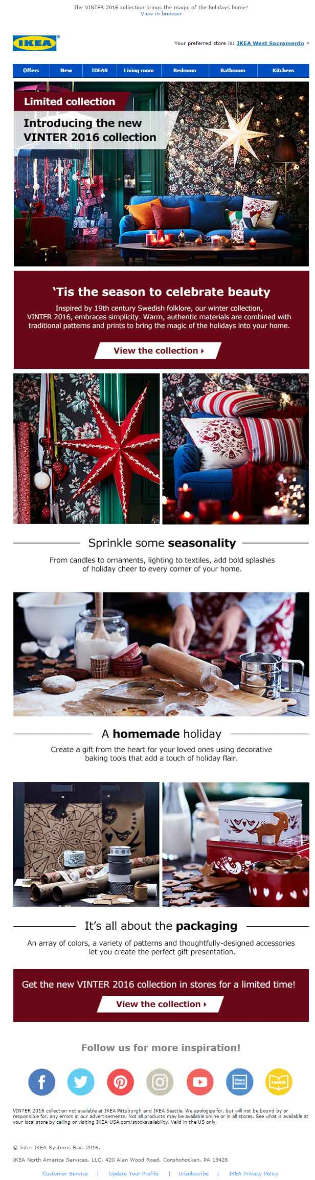 Christmas Email Template_Ikea