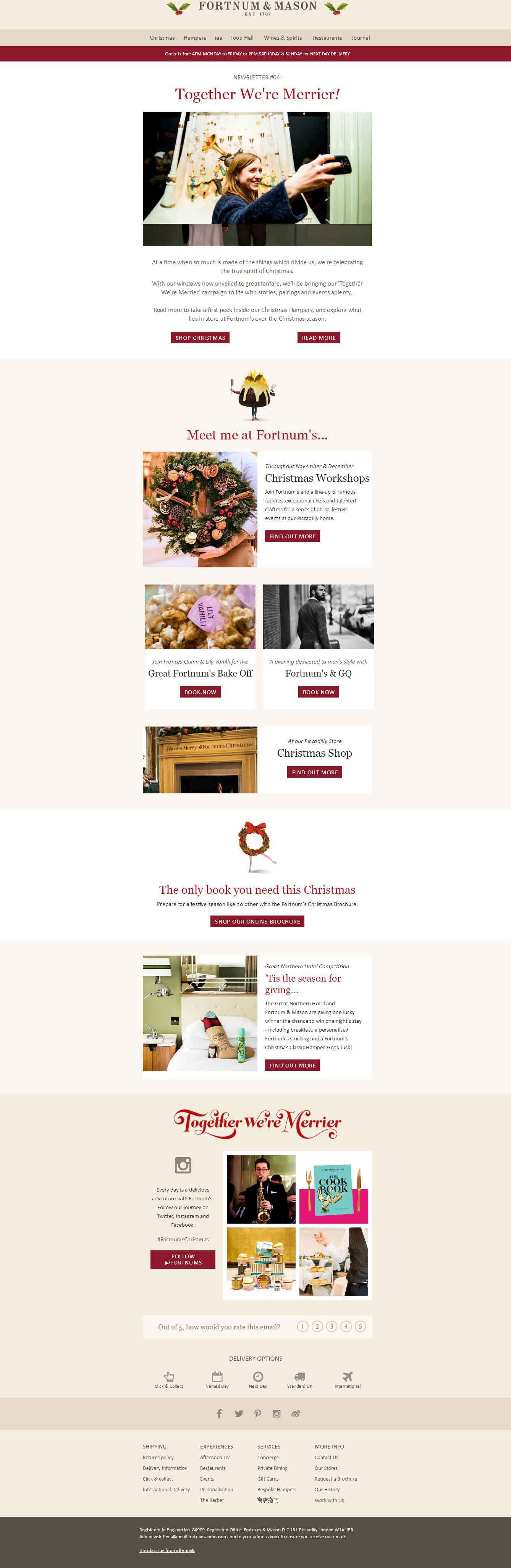 Christmas Email Template_Fortnum & Mason