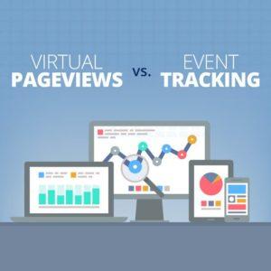 Virtual Pageviews vs. Event Tracking