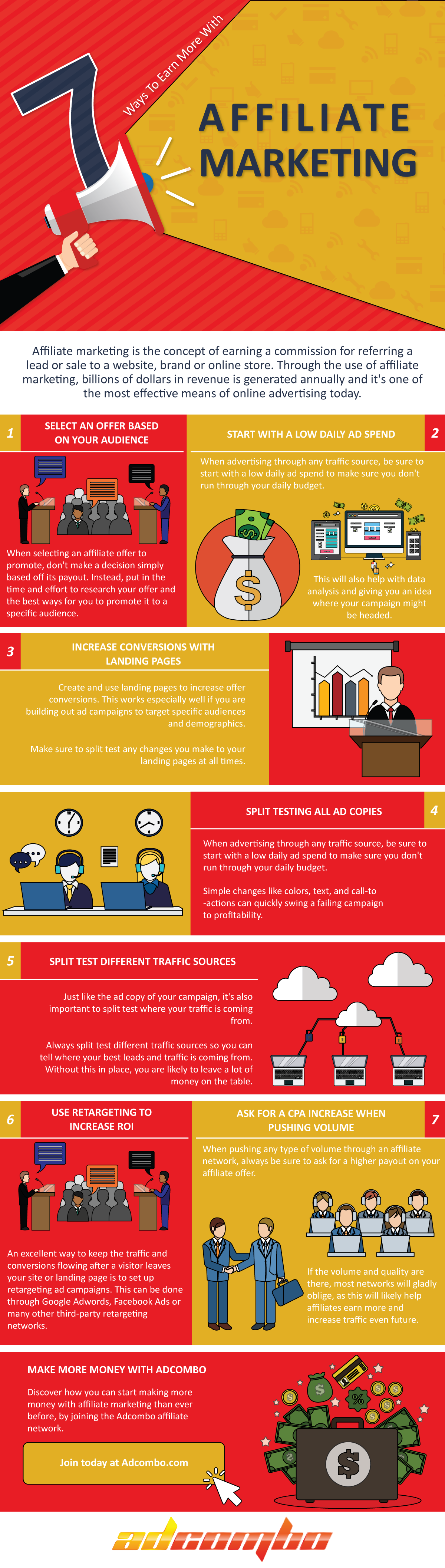 7 Ways to Earn More with Affiliate Marketing [Infographic]
