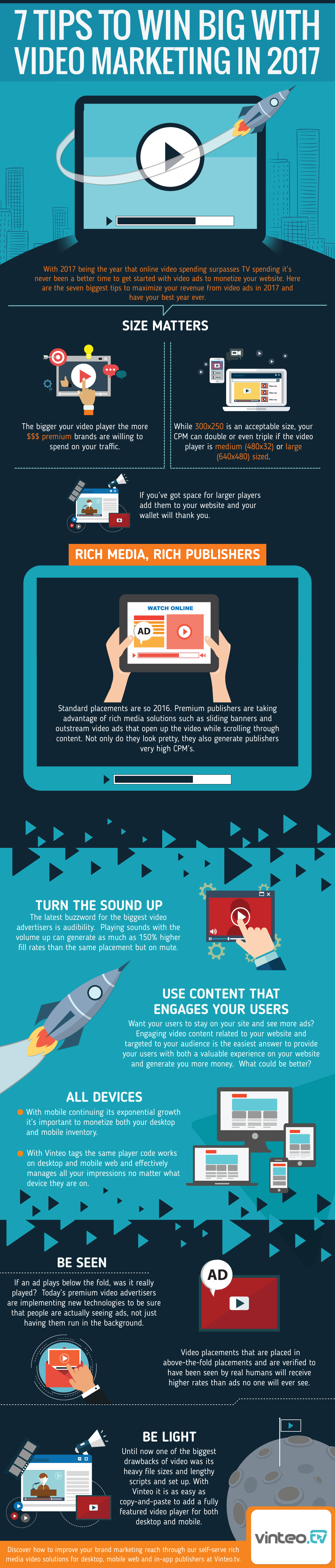 How to Win Big with Video Marketing [Infographic]