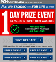 Publishers Clearing House: Lessons in Audience Neglect | Online