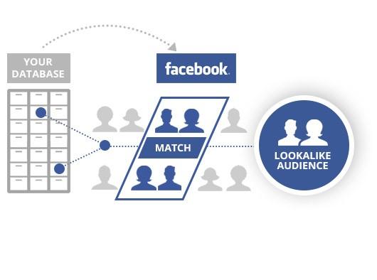 Facebook advertising lookalike audiences