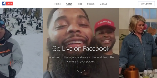 The Ridiculously Awesome Guide to Facebook Live