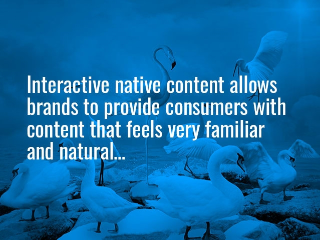 How to market your brand using interactive native content