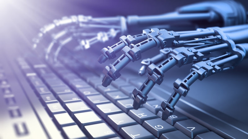 Don't worry, marketers. Robots won't replace you… yet.