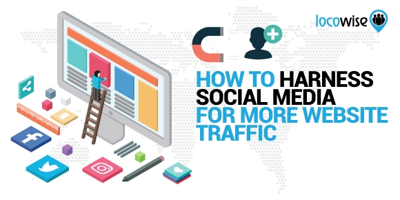 How To Harness Social Media For More Website Traffic