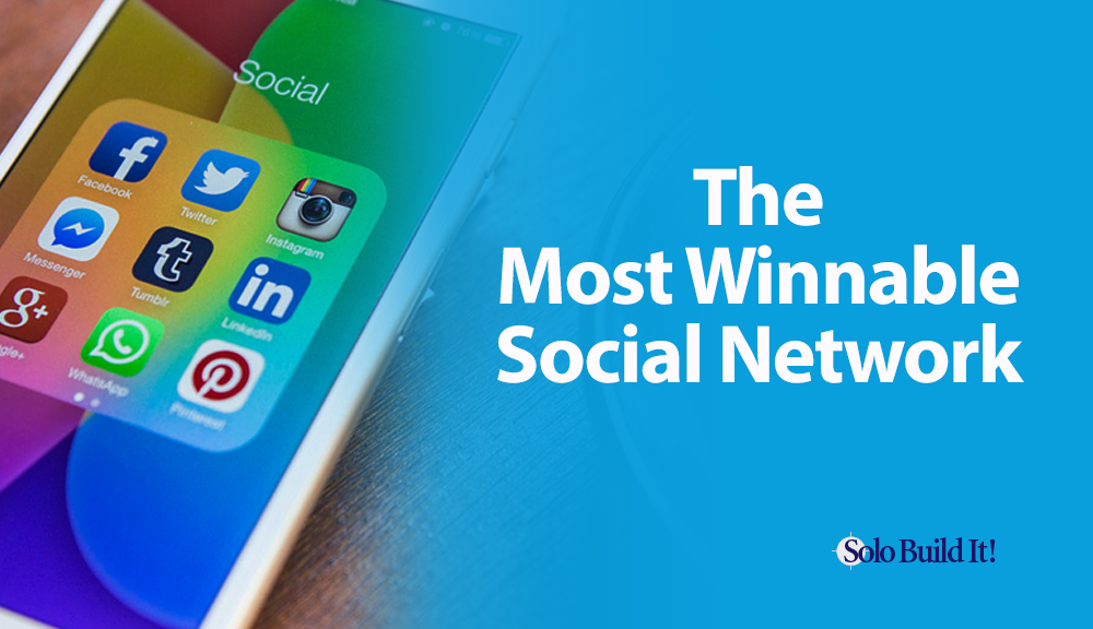 The Most Winnable Social Network