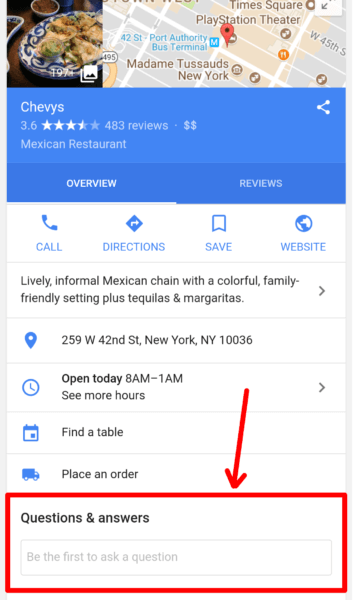 6 things you need to know about Google's Q and A feature on Google Maps