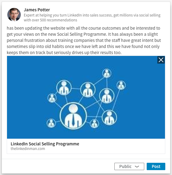 An Update On How to Share an Update on LinkedIn