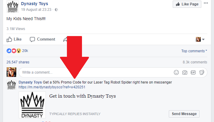 Hot eCommerce Marketing Trend: Facebook Messenger Ads