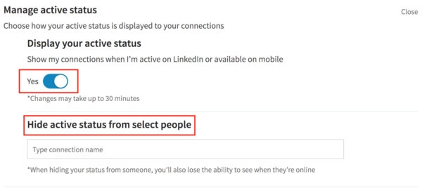 Active Status: LinkedIn's Newest Messaging Feature