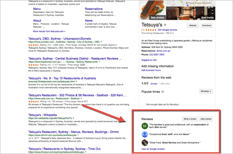 Local SEO: How Restaurants Can Rank on Page 1 of Google Without a Website