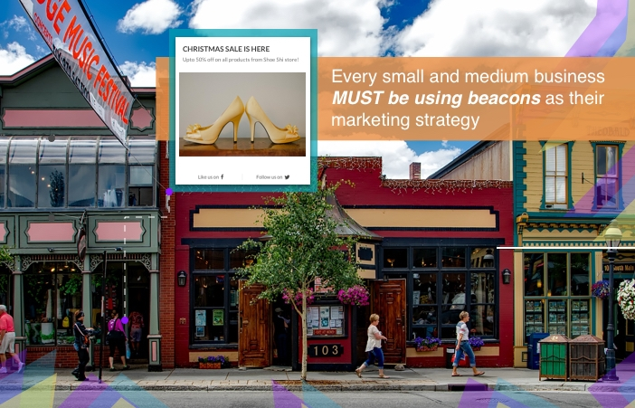Marketing Strategies For Small and Medium Businesses Should Include Beacons