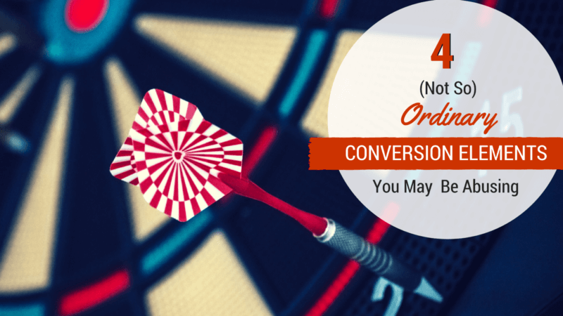 4 (not so) ordinary conversion elements you may be abusing