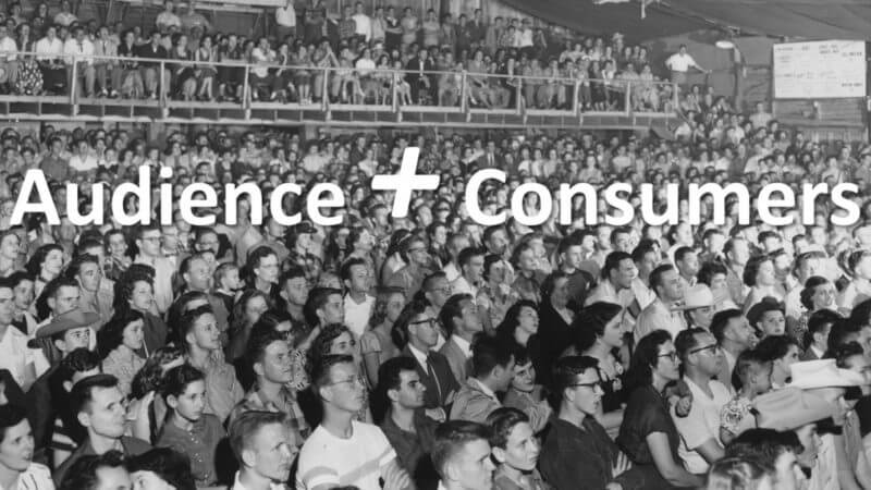 How to build an audience of consumers in today's highly competitive environment