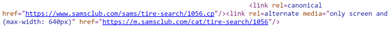 Canonical tags gone wild