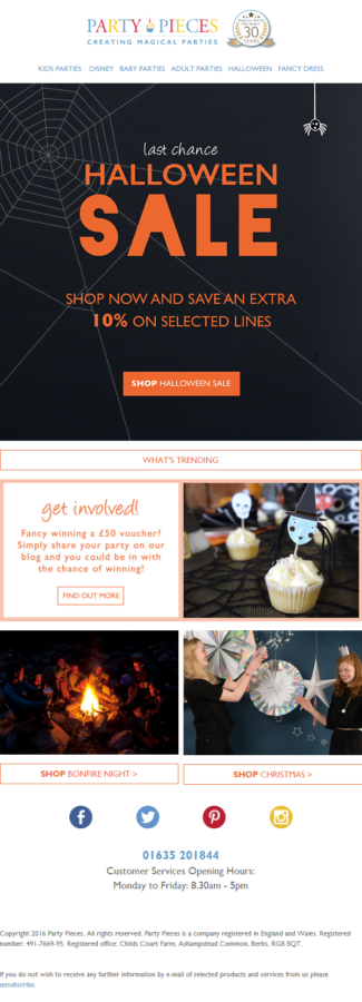 Halloween Email Inspirations to Treat (Not Trick!) Your Subscribers this Halloween