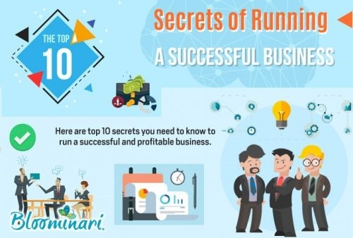 The Top 10 Secrets of Running a Successful Business [Infographic]