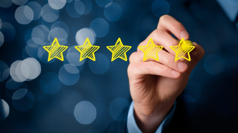 Understanding the interplay of SEO and a 5-star reputation