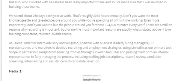 uploading a resume to your linkedin profile online sales guide tips