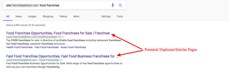 3 case studies of duplicate content consolidation