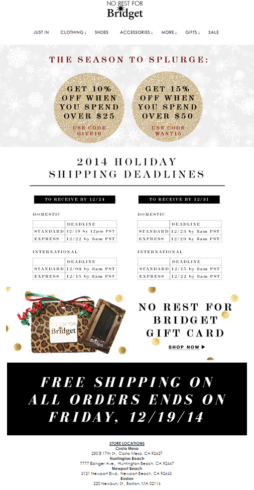 5 Holiday Sales Email Fails to Avoid
