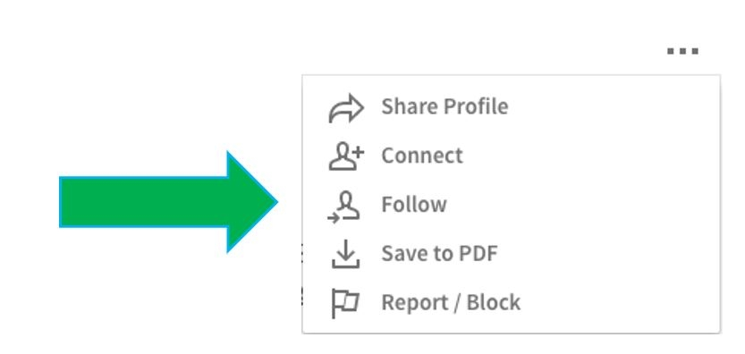 What's the Difference Between Connecting, Following and Contacts on LinkedIn?