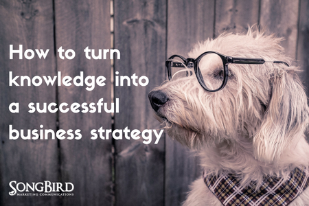 How To Turn Knowledge Into a Successful Business Strategy