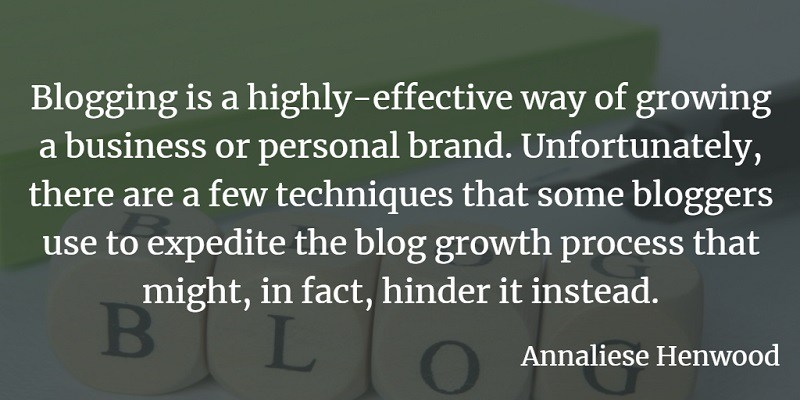 5 Damaging Mistakes to Avoid When Growing Your Blog