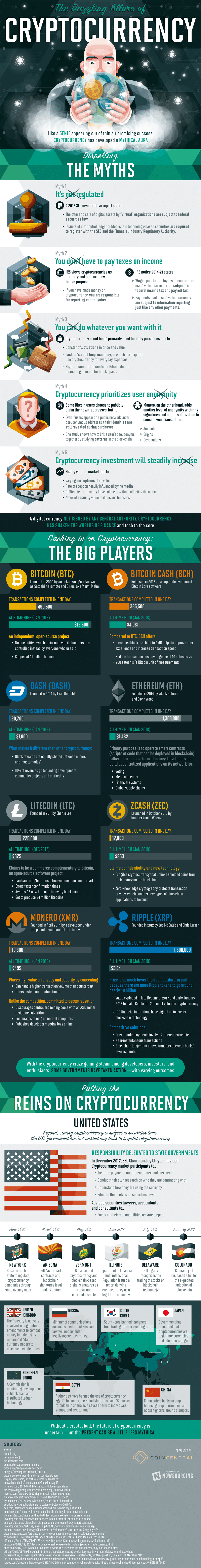 Is Cryptocurrency A Dangerous Bet For Your Business? [Infographic]