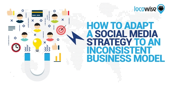 How To Adapt A Social Media Strategy To An Inconsistent Business Model