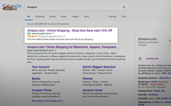 Hackers Use Google To Serve Amazon Scam Ads, Again