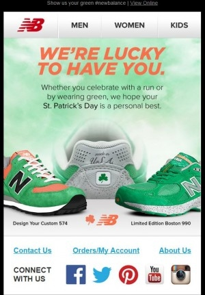 Go Green with These 4 St. Patrick's Day Email Ideas