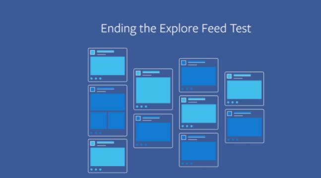 """Buh Bye Facebook """"Explore Feed"""""""