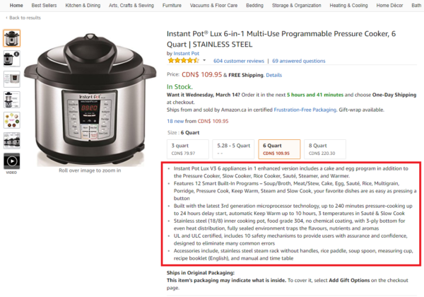 How to Write an Amazon Product Description that Ranks High in Search